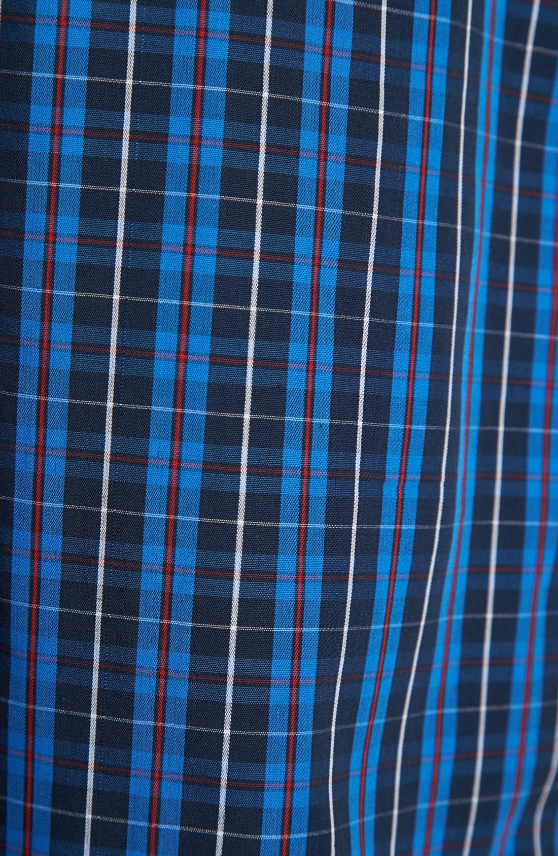 Woven Pajama Shorts,                             Alternate thumbnail 3, color,                             Harwich Plaid