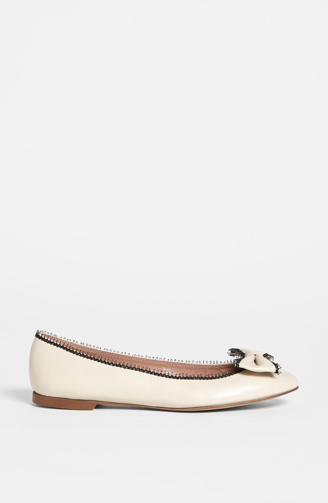 Alternate Image 4  - RED Valentino Ballerina Flat (Online Only)