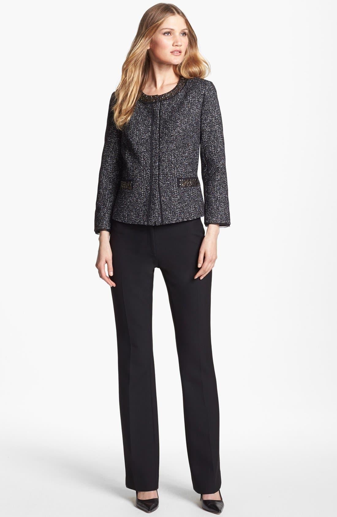 Alternate Image 4  - Classiques Entier® 'City Weave' Trousers