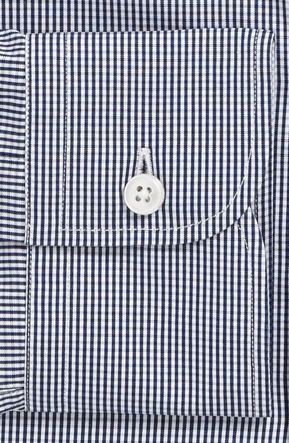 Alternate Image 2  - Z Zegna Slim Fit Micro Check Dress Shirt