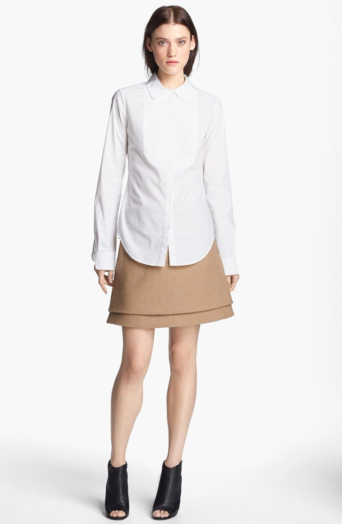 Alternate Image 1 Selected - Rachel Zoe 'Beatrice' Pleated Blouse