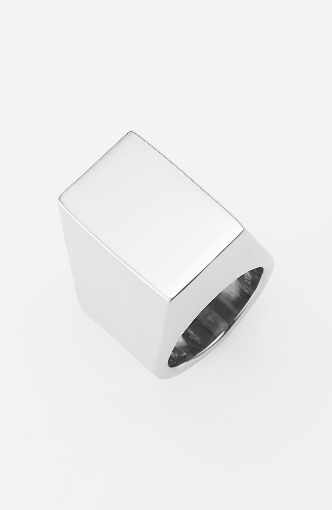 Alternate Image 1 Selected - Vince Camuto Geometric Statement Ring