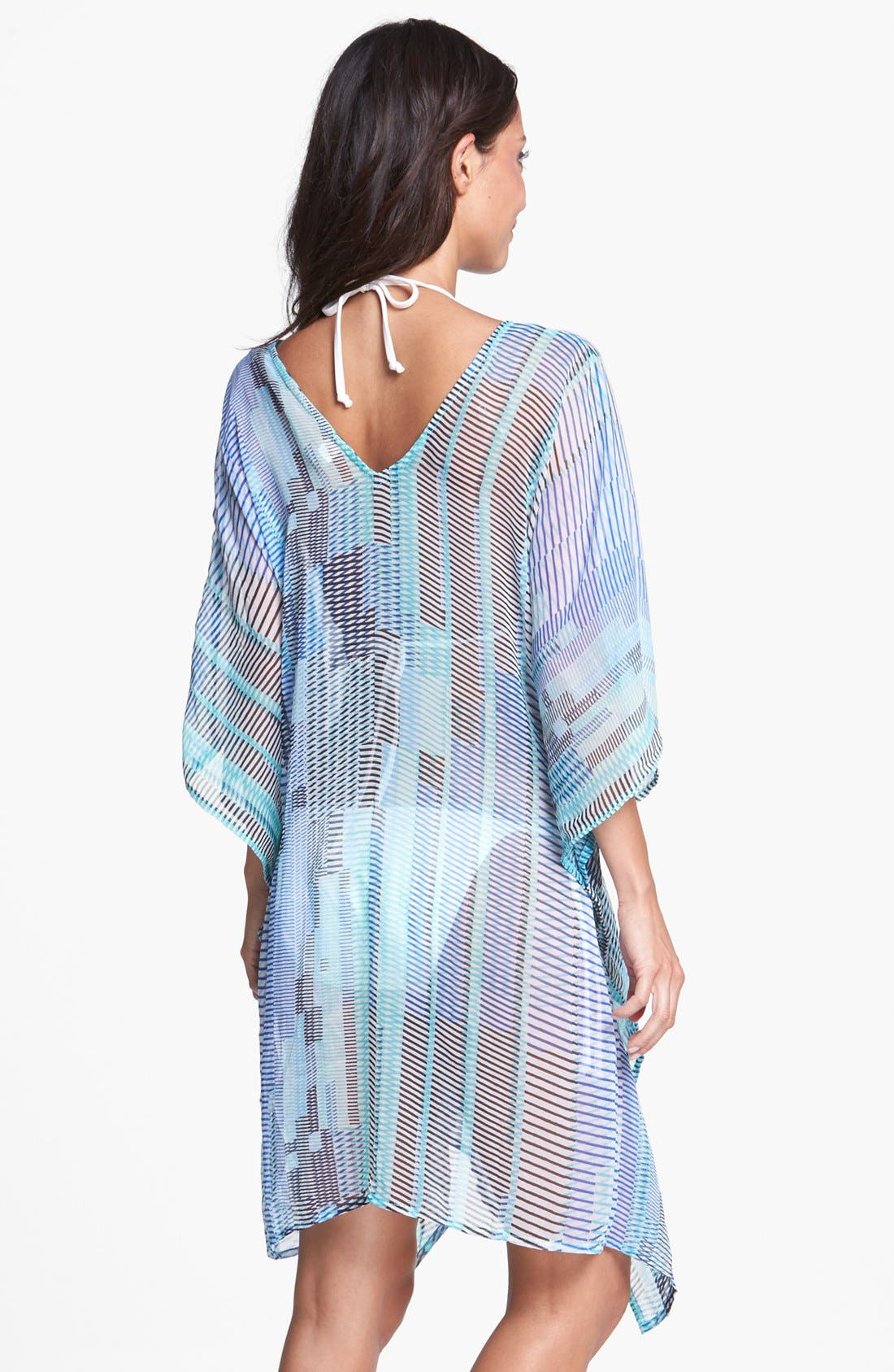 Alternate Image 2  - Echo 'Loco Stripe' Caftan Cover-Up