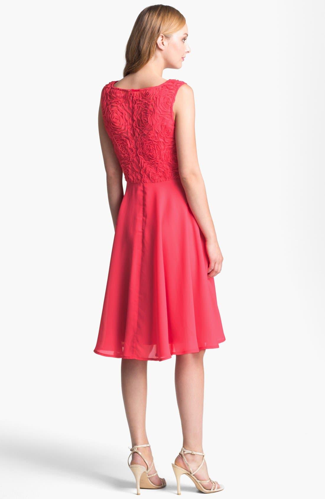 Alternate Image 2  - Isaac Mizrahi New York Soutache Fit & Flare Dress