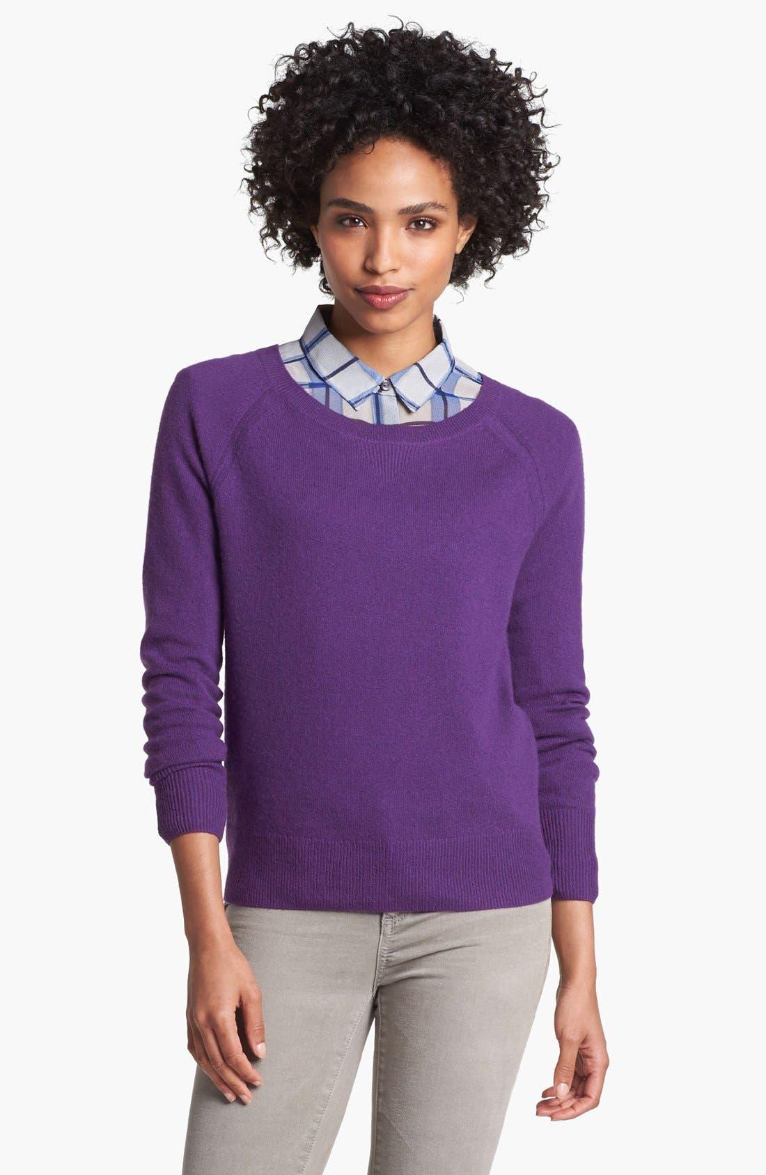 Main Image - Halogen® Raglan Sleeve Cashmere Sweater