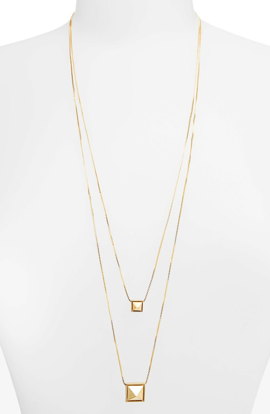 Alternate Image 2  - Vince Camuto 'Summer Metals' Multistrand Pendant Necklace