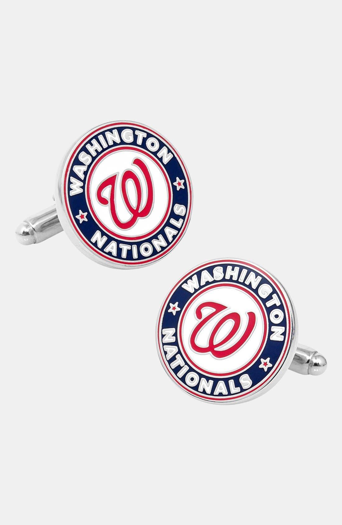 Cufflinks, Inc. 'Washington Nationals' Cuff Links