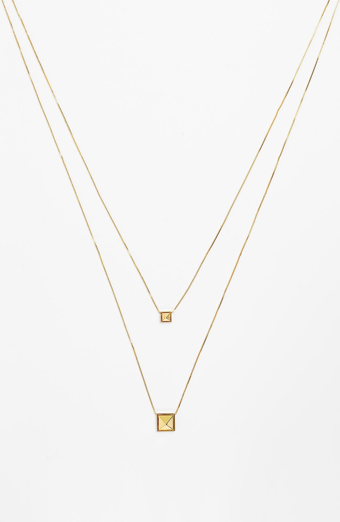 Alternate Image 1 Selected - Vince Camuto 'Summer Metals' Multistrand Pendant Necklace