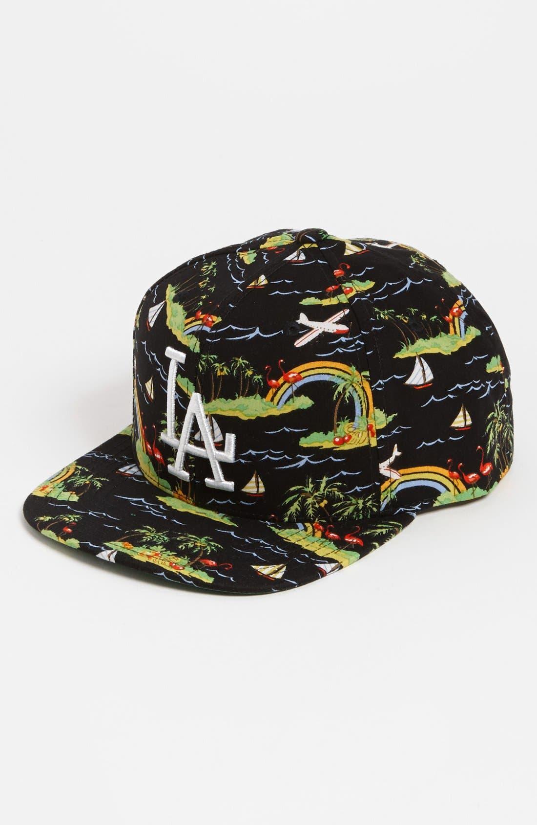 Alternate Image 1 Selected - American Needle 'Los Angeles Dodgers - Kona' Baseball Cap