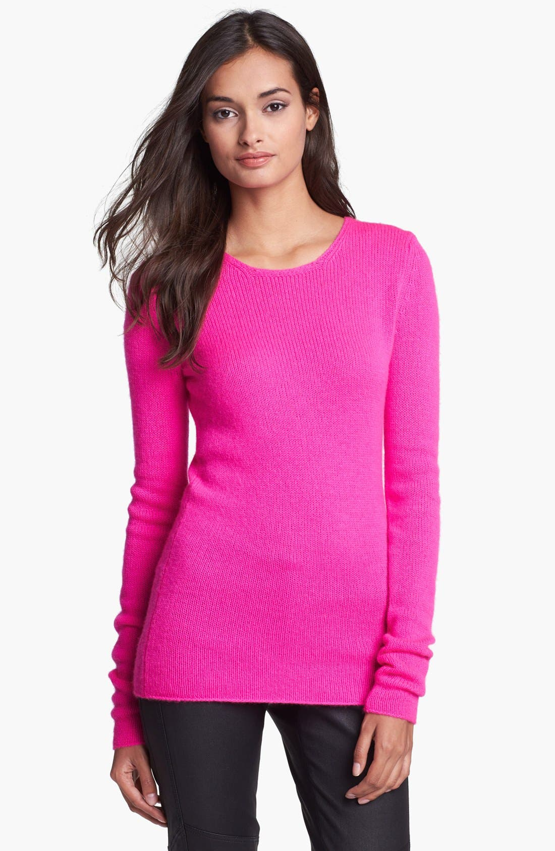 Alternate Image 1 Selected - Diane von Furstenberg 'Niseko' Cashmere Sweater