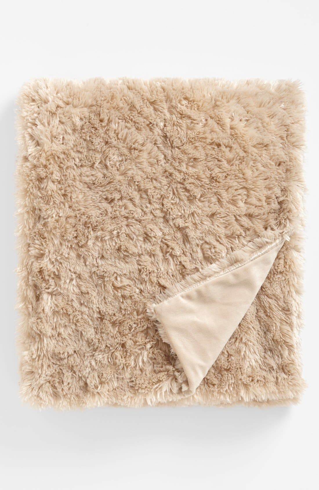 Alternate Image 1 Selected - Nordstrom at Home 'Shaggy' Plush Throw Blanket