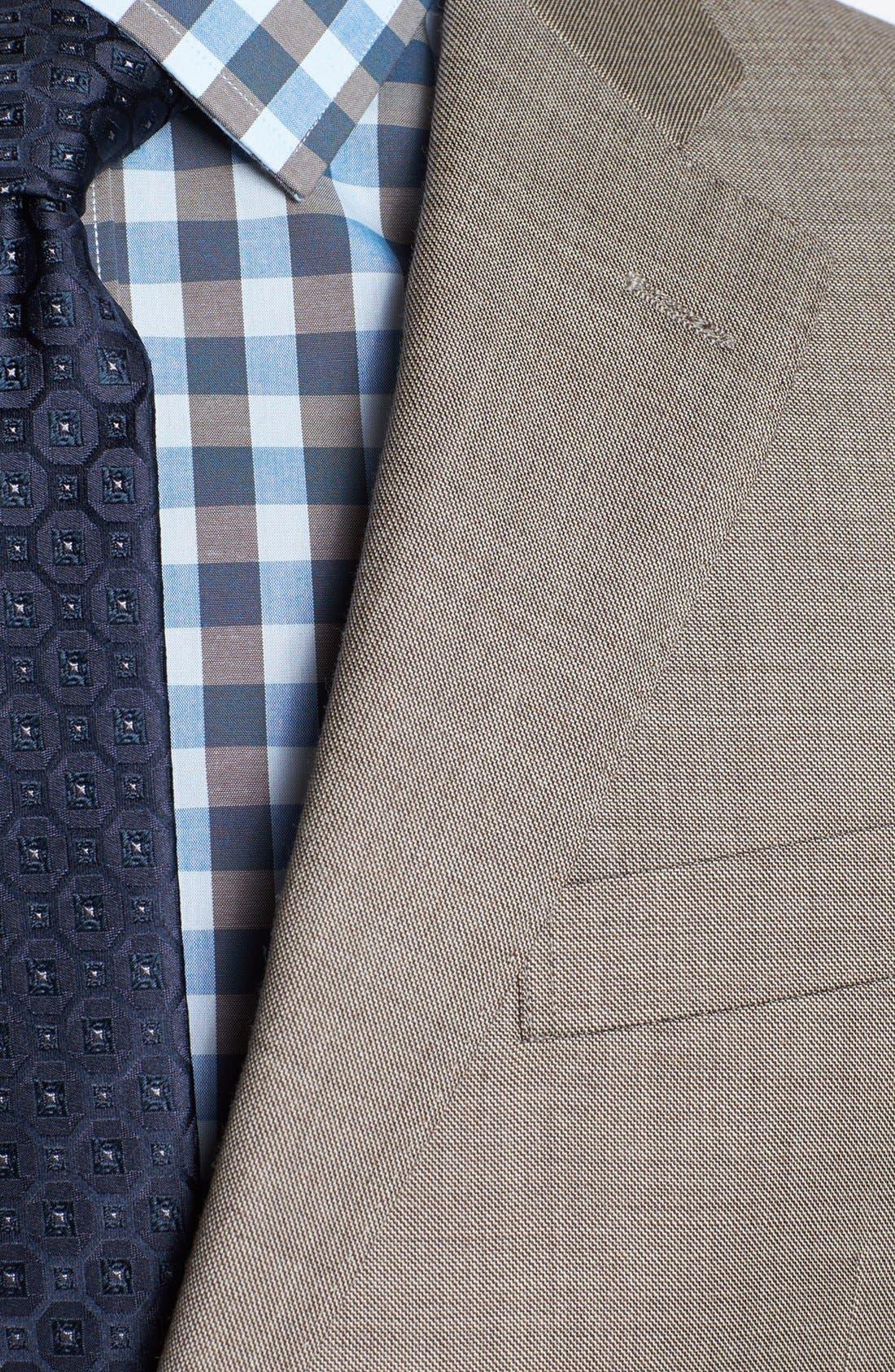 Alternate Image 2  - John W. Nordstrom® Classic Fit Wool Suit