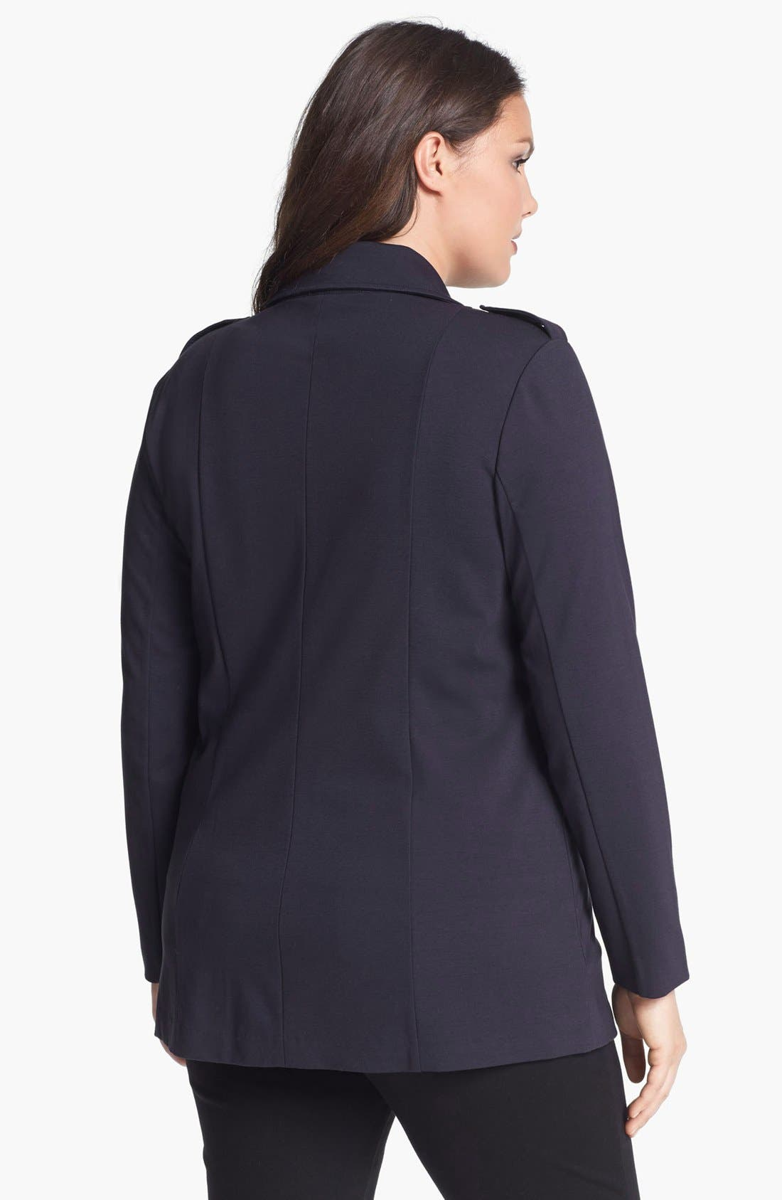 Alternate Image 2  - NIC+ZOE Riding Jacket (Plus Size)