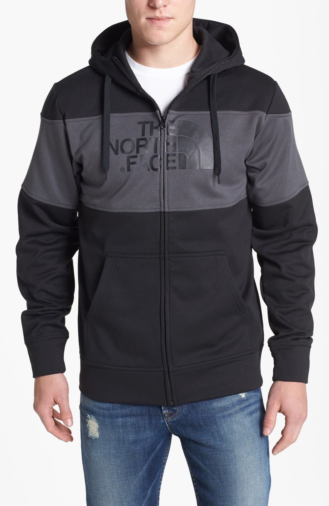Alternate Image 1 Selected - The North Face 'Peak Dome' Zip Hoodie
