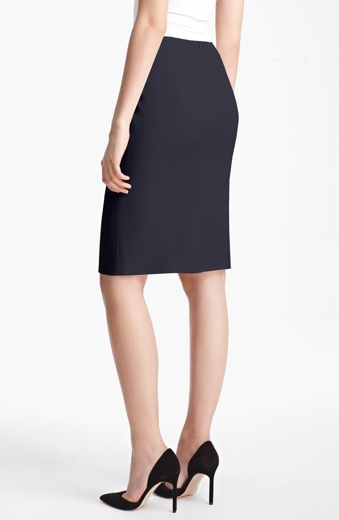Alternate Image 2  - Max Mara 'Tebano' Stretch Wool Pencil Skirt