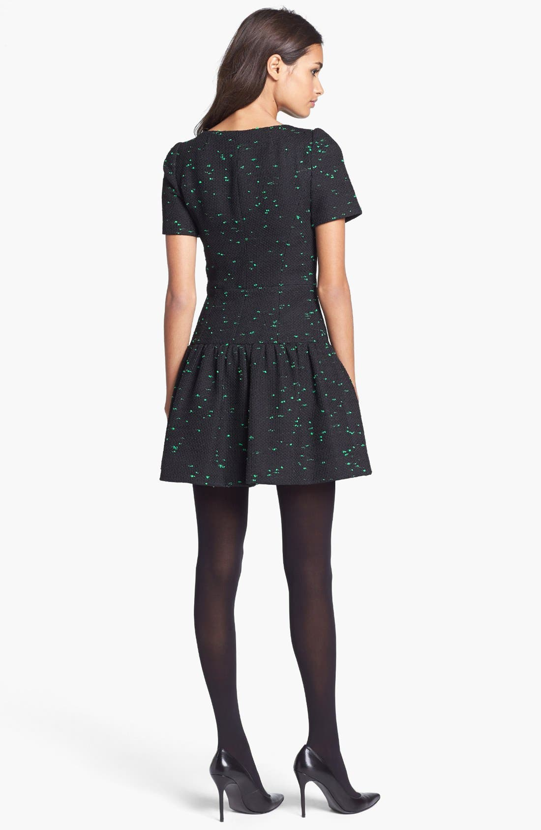 Alternate Image 2  - Milly Short Sleeve Drop Waist Dress