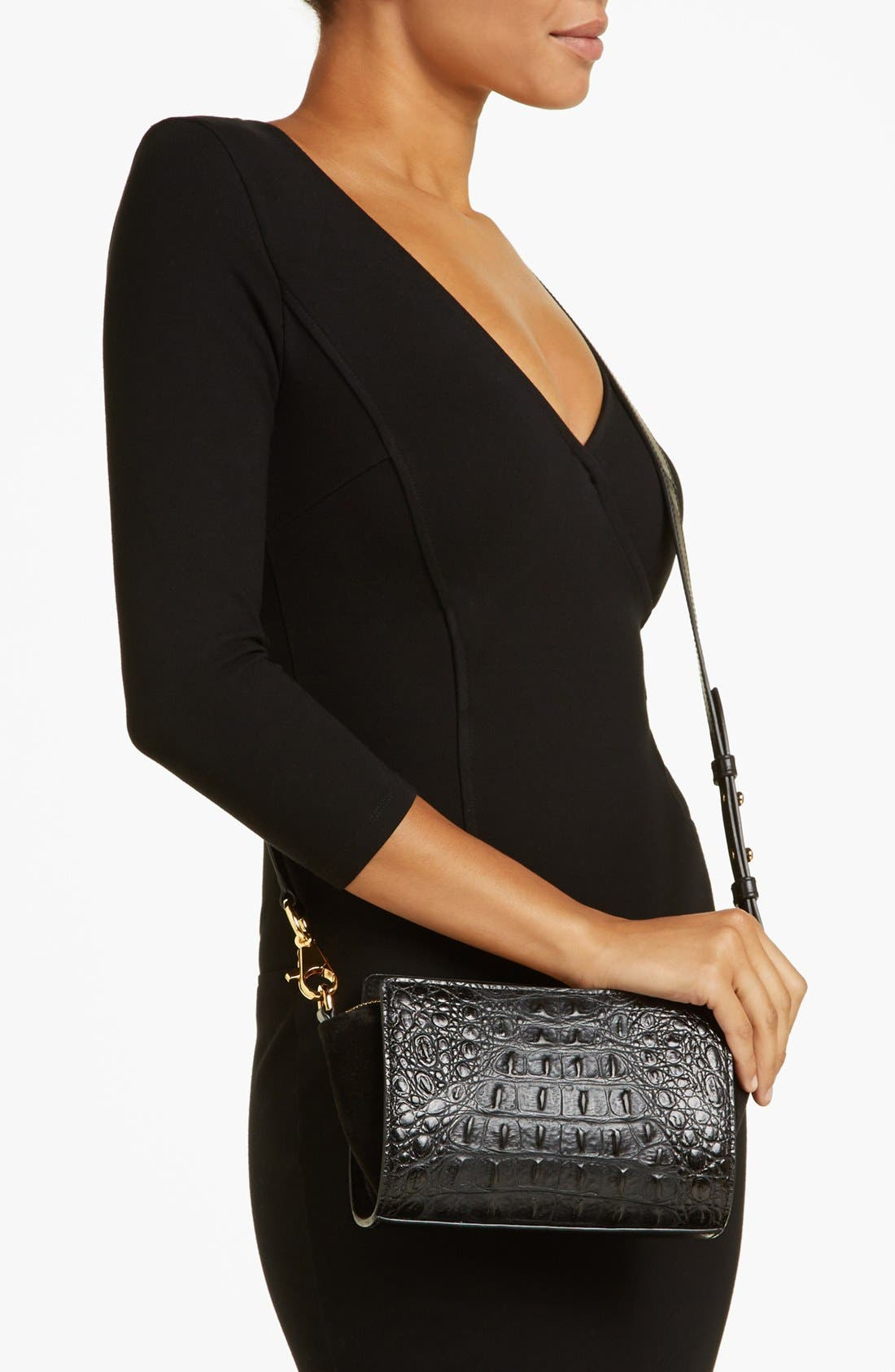 Alternate Image 2  - Alexander Wang 'Pelican Sling' Hornback Embossed Clutch