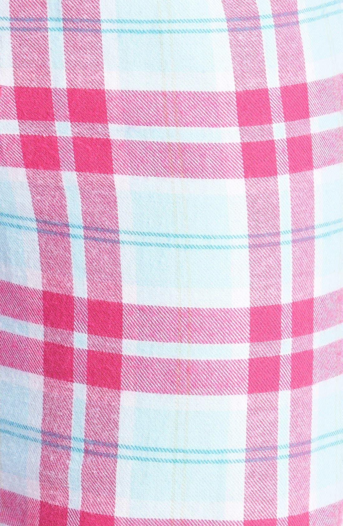 Alternate Image 4  - Make + Model Flannel Pants
