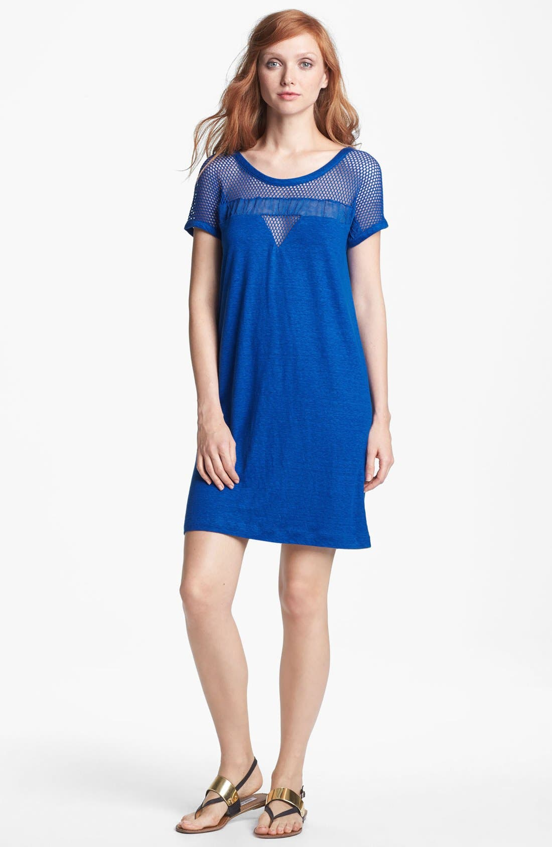 Main Image - MARC BY MARC JACOBS Linen Shift Dress