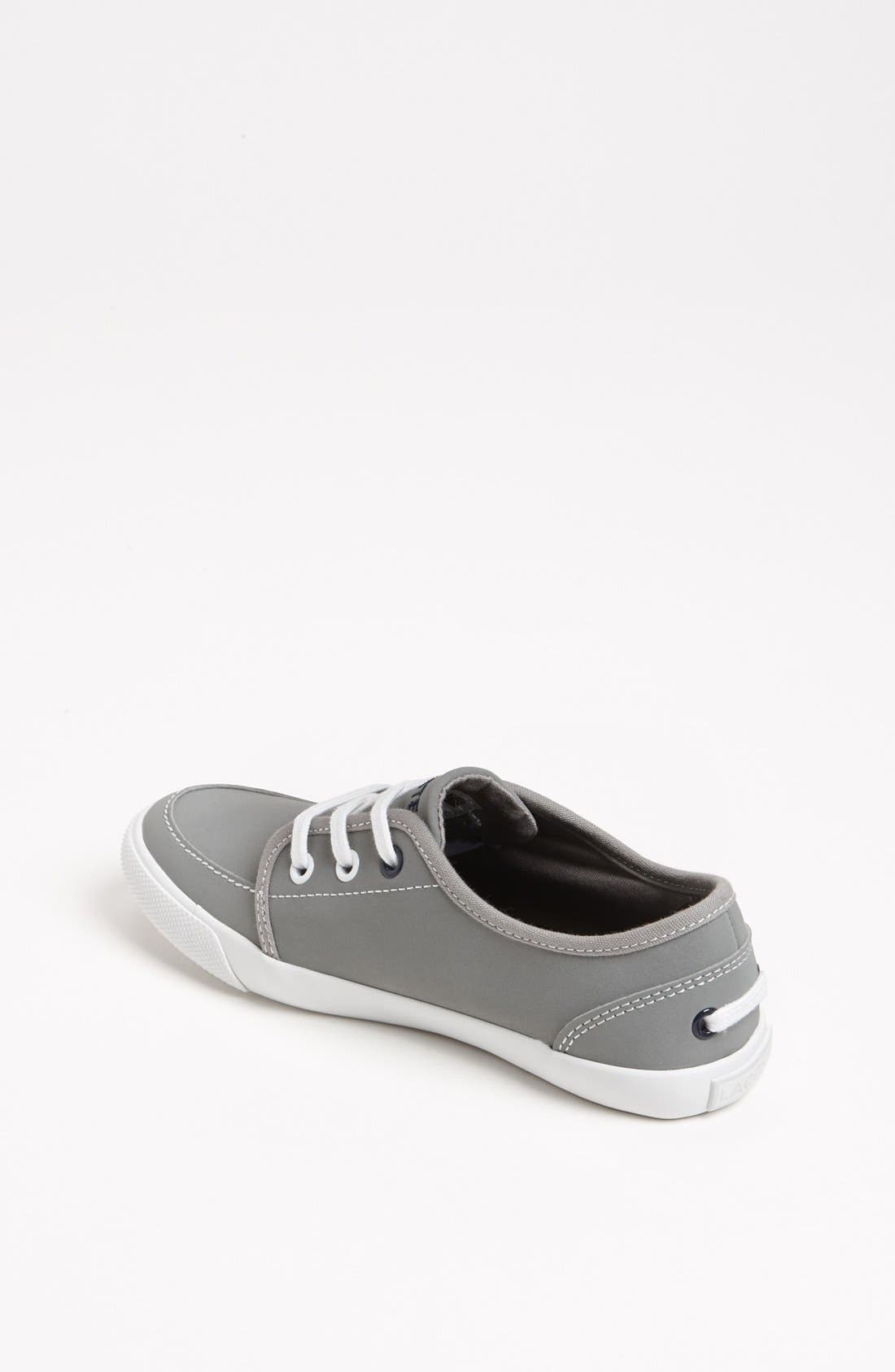 Alternate Image 2  - Lacoste 'Boat DE' Sneaker (Toddler & Little Kid)