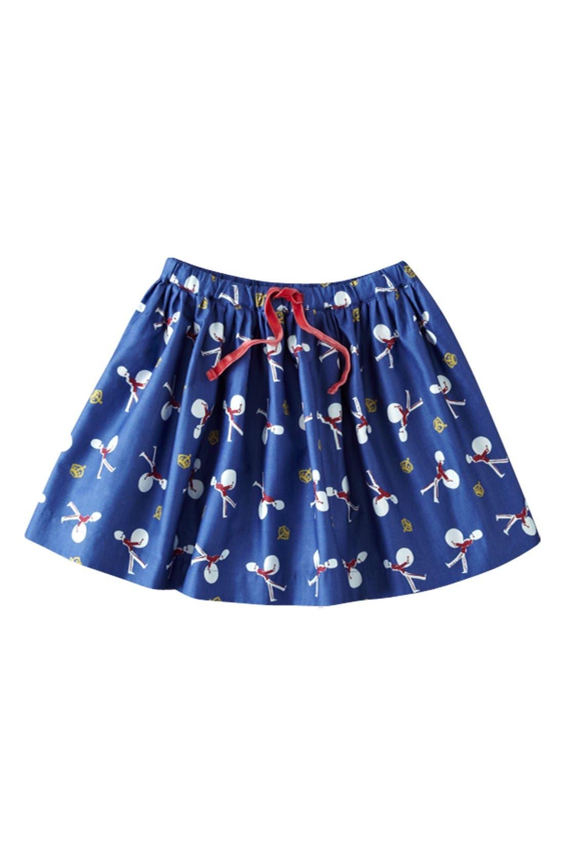Alternate Image 1 Selected - Mini Boden 'Heritage' Full Skirt (Little Girls & Big Girls)