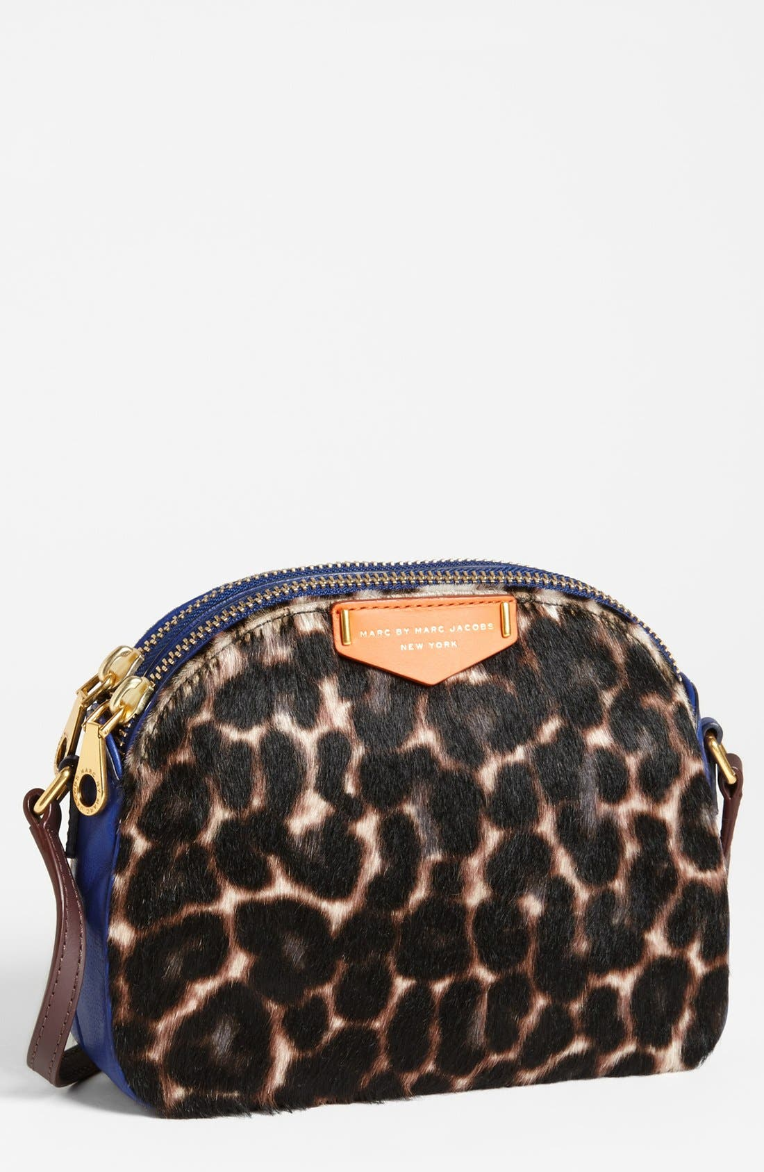 Alternate Image 1 Selected - MARC BY MARC JACOBS 'Lola' Calf Hair Crossbody Bag