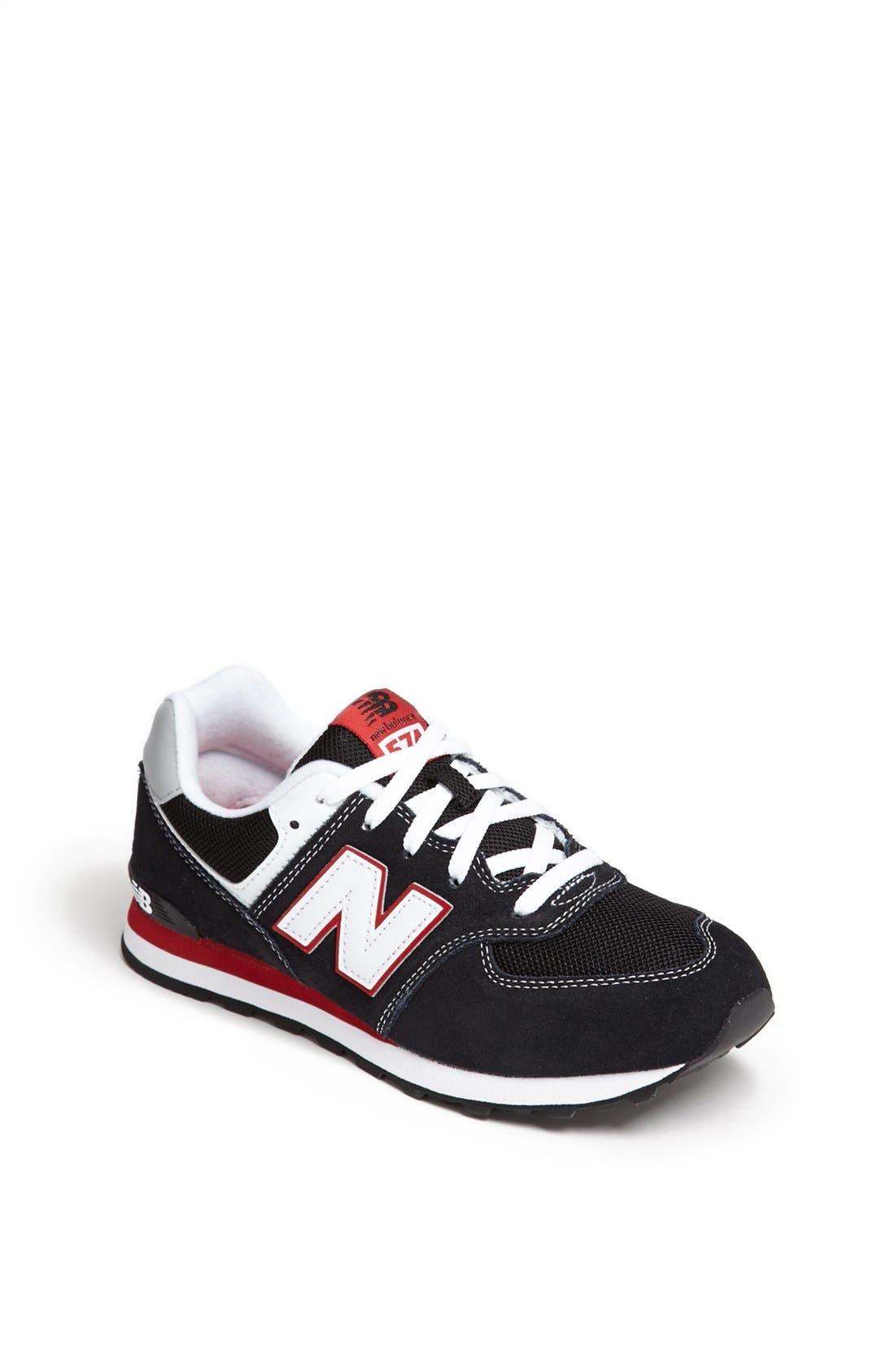 Alternate Image 1 Selected - New Balance '574 Classic' Sneaker (Baby, Walker, Toddler, Little Kid & Big Kid)