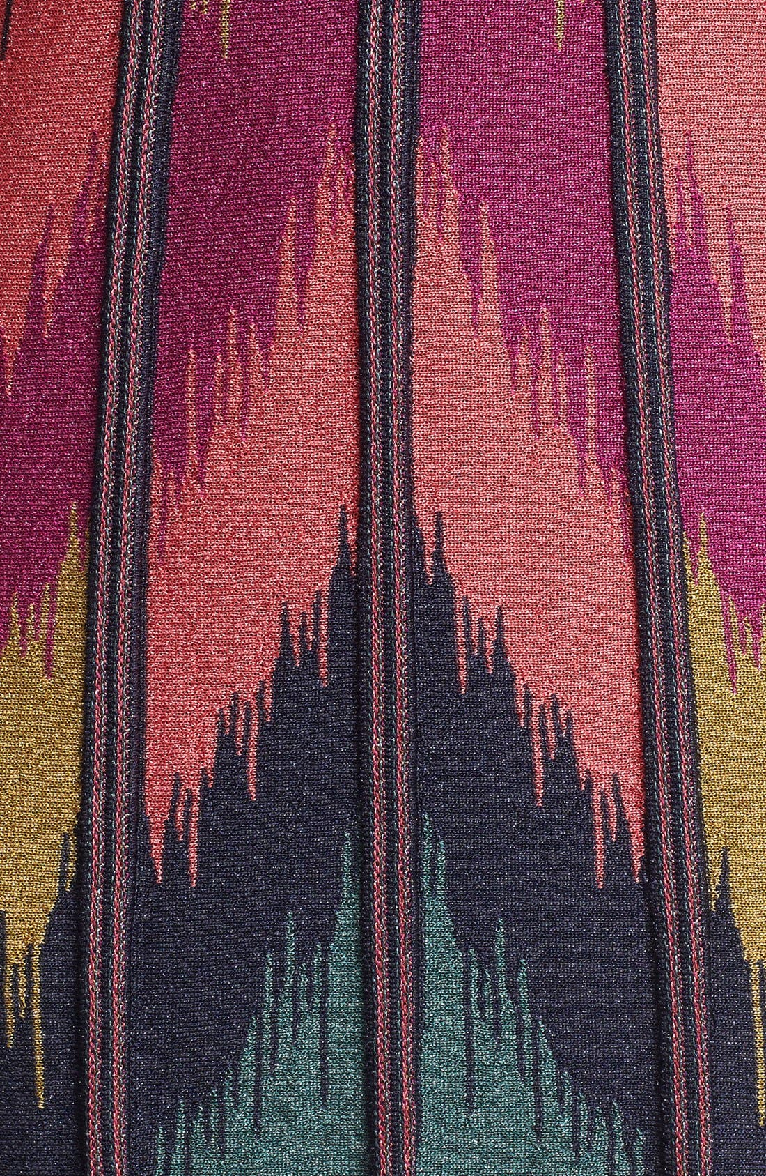 Alternate Image 3  - M Missoni Ikat Pattern Trapeze Dress