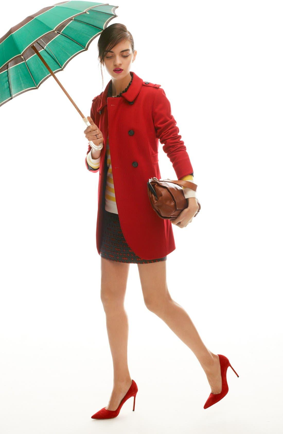 Alternate Image 6  - Miss Wu 'Torre' Wool Blend Military Jacket (Nordstrom Exclusive)
