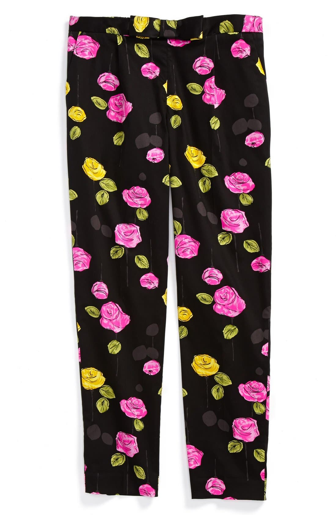 Alternate Image 1 Selected - Milly Minis 'Sally' Floral Print Pants (Toddler Girls, Little Girls & Big Girls)