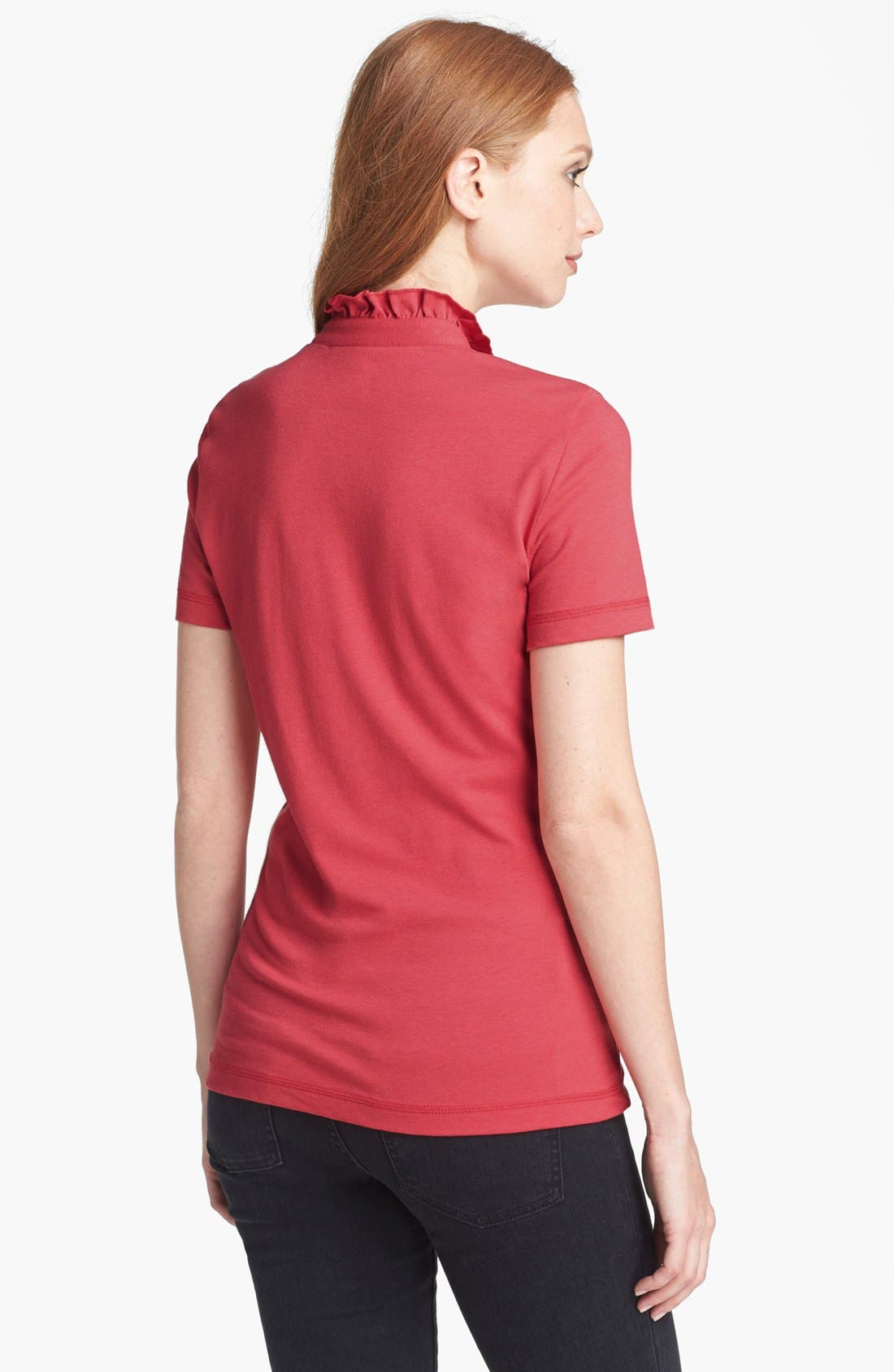 Alternate Image 2  - Tory Burch 'Lidia' Short Sleeve Polo