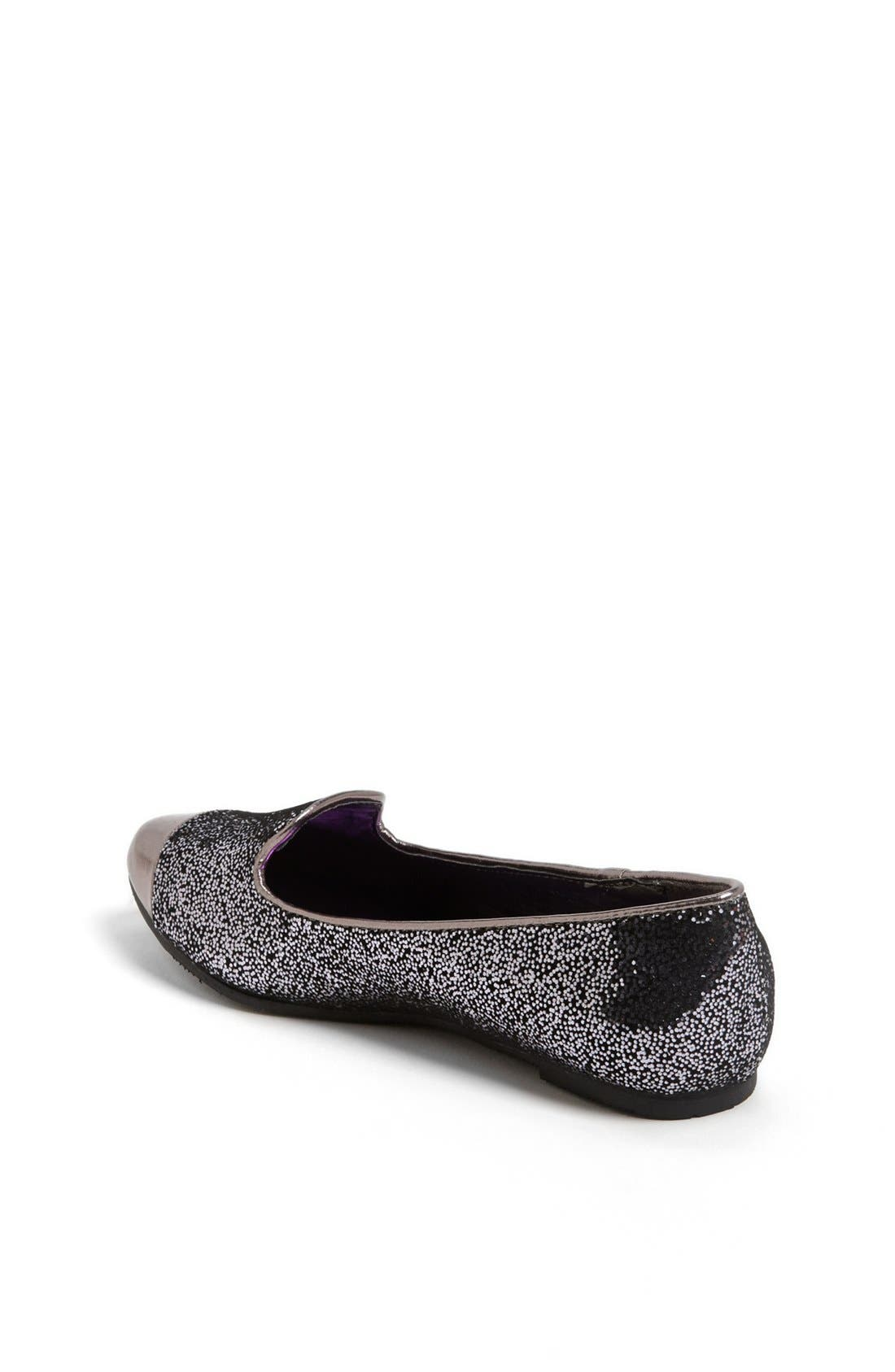 Alternate Image 2  - kensie girl Glitter Flat (Toddler, Little Kid & Big Kid)