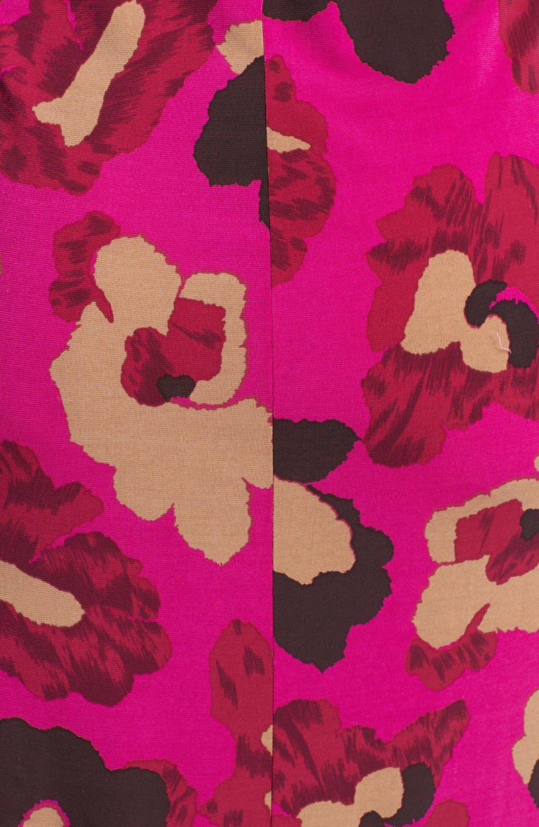 Alternate Image 3  - Anne Klein Floral Print Faux Wrap Dress