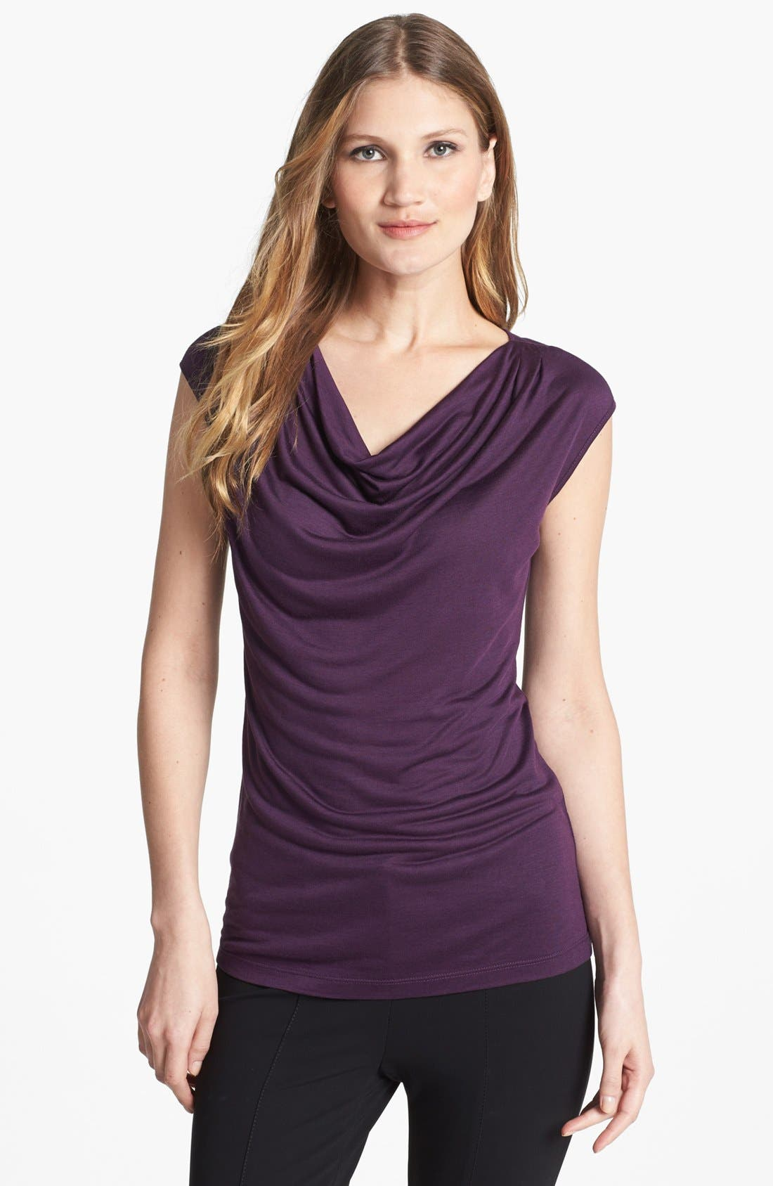 Alternate Image 1 Selected - NIC+ZOE Drape Neck Top