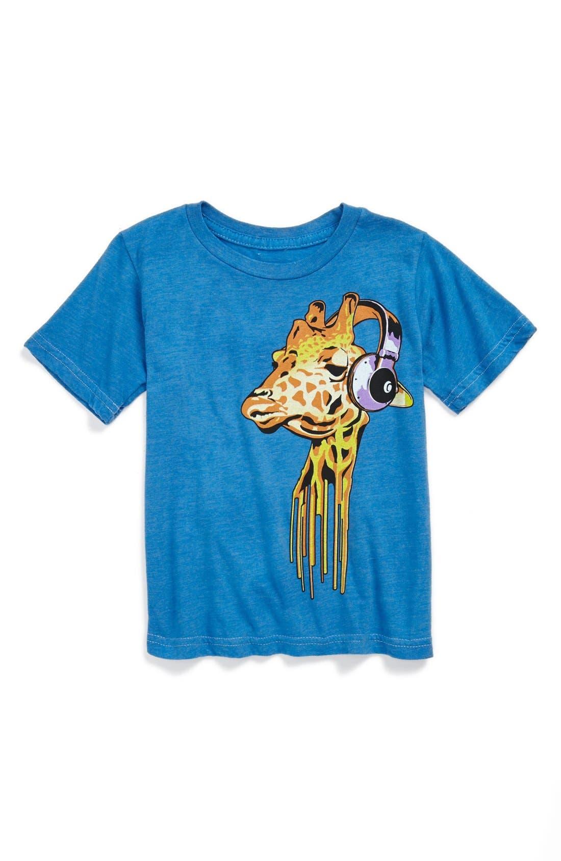 Alternate Image 1 Selected - Jem 'Heads Up Sky Diver' T-Shirt (Toddler Boys)