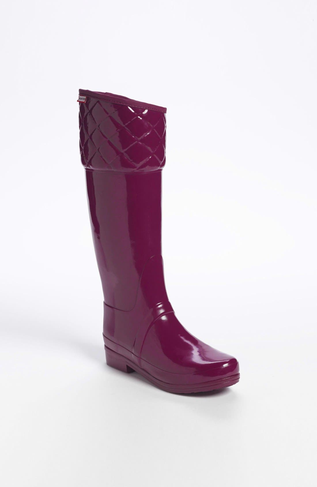 'Rigley' Rain Boot,                         Main,                         color, Dark Ruby