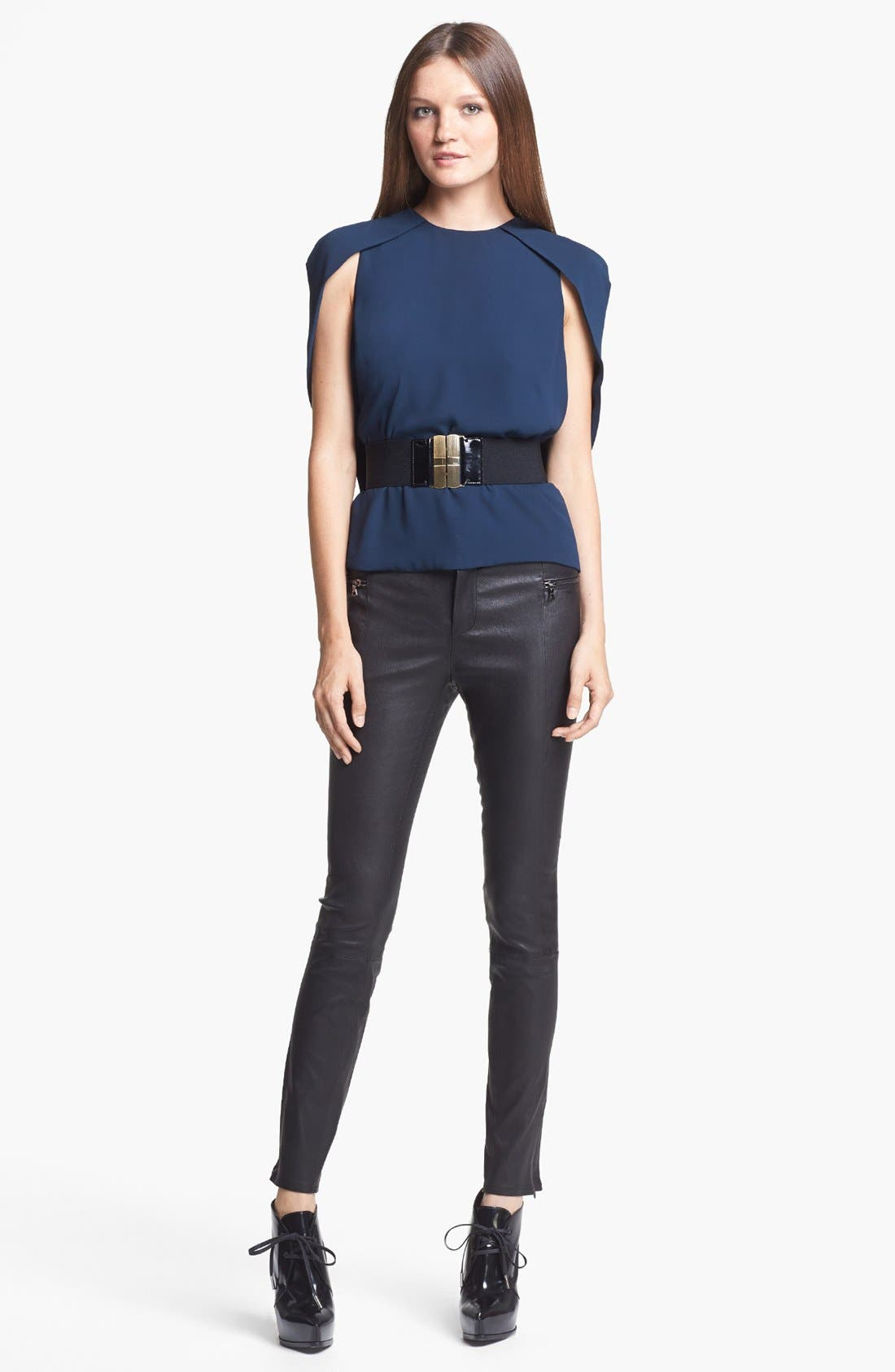 Alternate Image 2  - J Brand Ready-to-Wear 'Cowley' Crepe Top