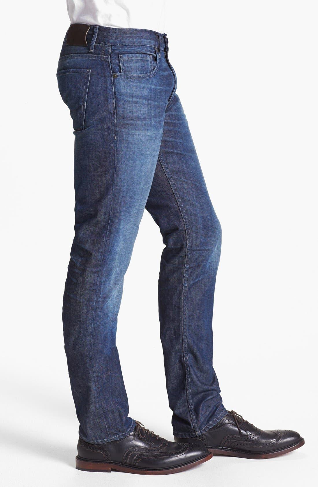 Alternate Image 3  - PAIGE 'Federal' Slim Fit Jeans (Peak)