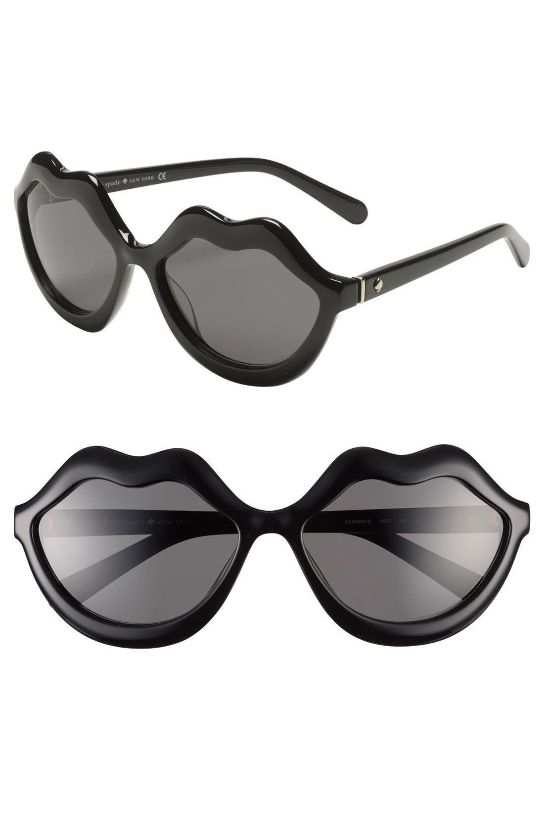 Alternate Image 1 Selected - kate spade new york 'seanns' 59mm sunglasses