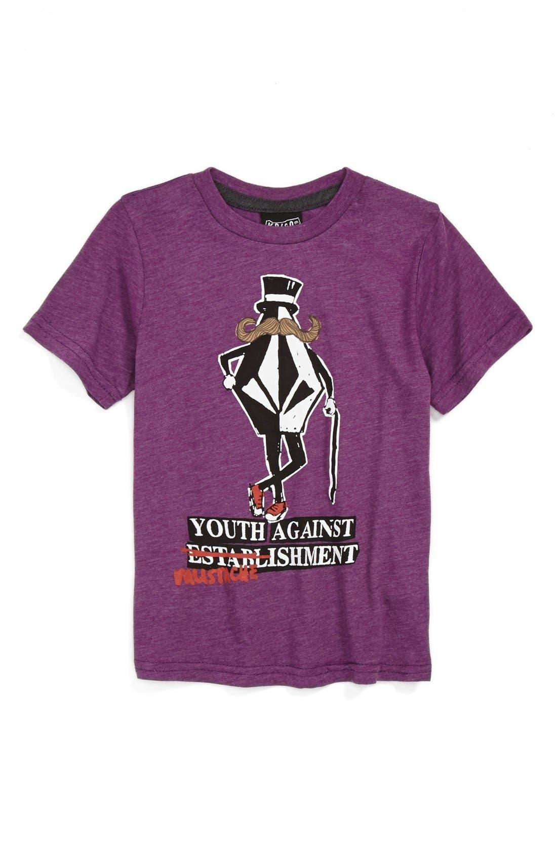 Alternate Image 1 Selected - Volcom 'Mustablishment' Graphic T-Shirt (Little Boys)