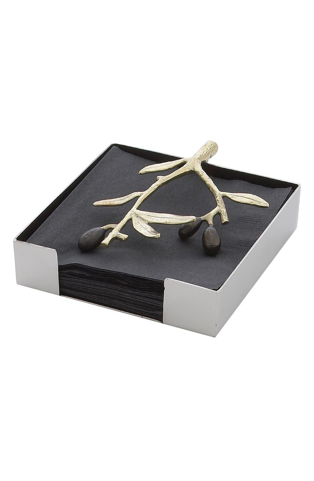 Alternate Image 1 Selected - Michael Aram 'Olive Branch' Napkin Holder