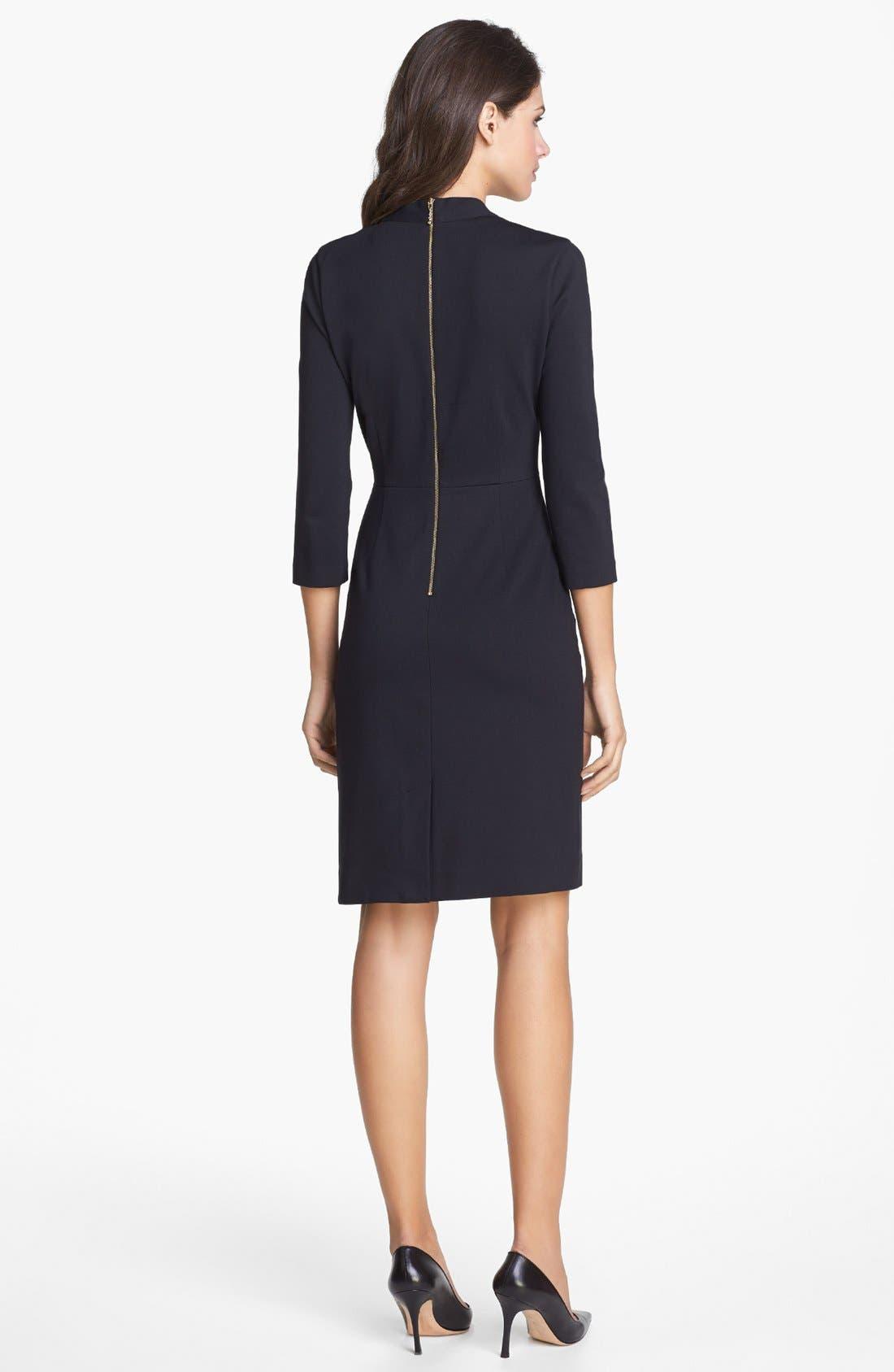 Alternate Image 2  - kate spade new york 'darlene' stretch sheath dress