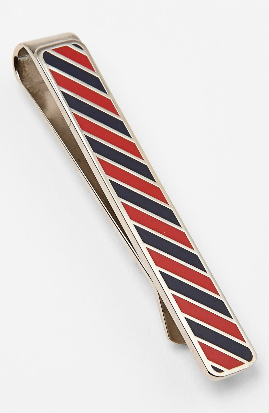 Alternate Image 1 Selected - Jack Spade Repp Stripe Tie Bar