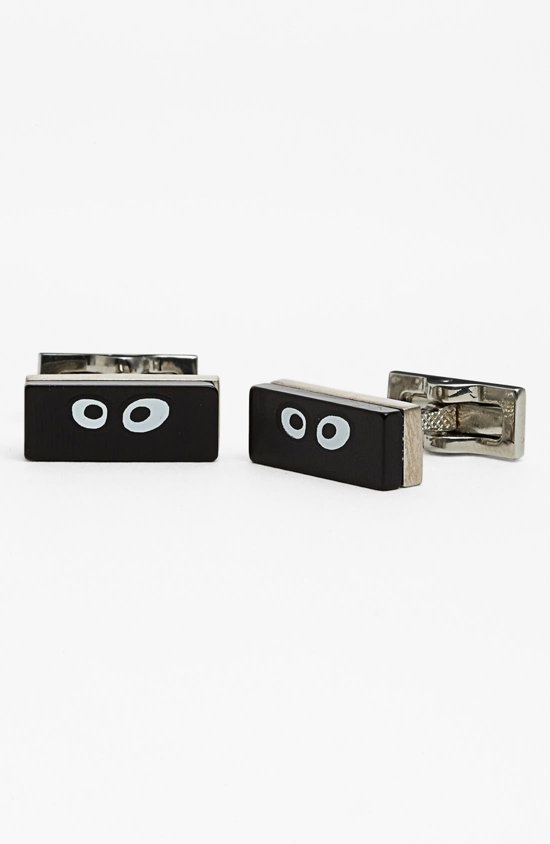 Main Image - Jack Spade Googly Eyes Cuff Links
