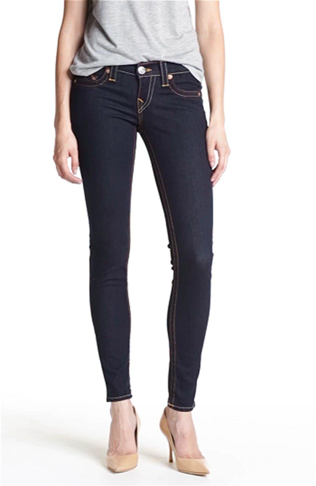 Casey' skinny stretch jeans (body rinse)