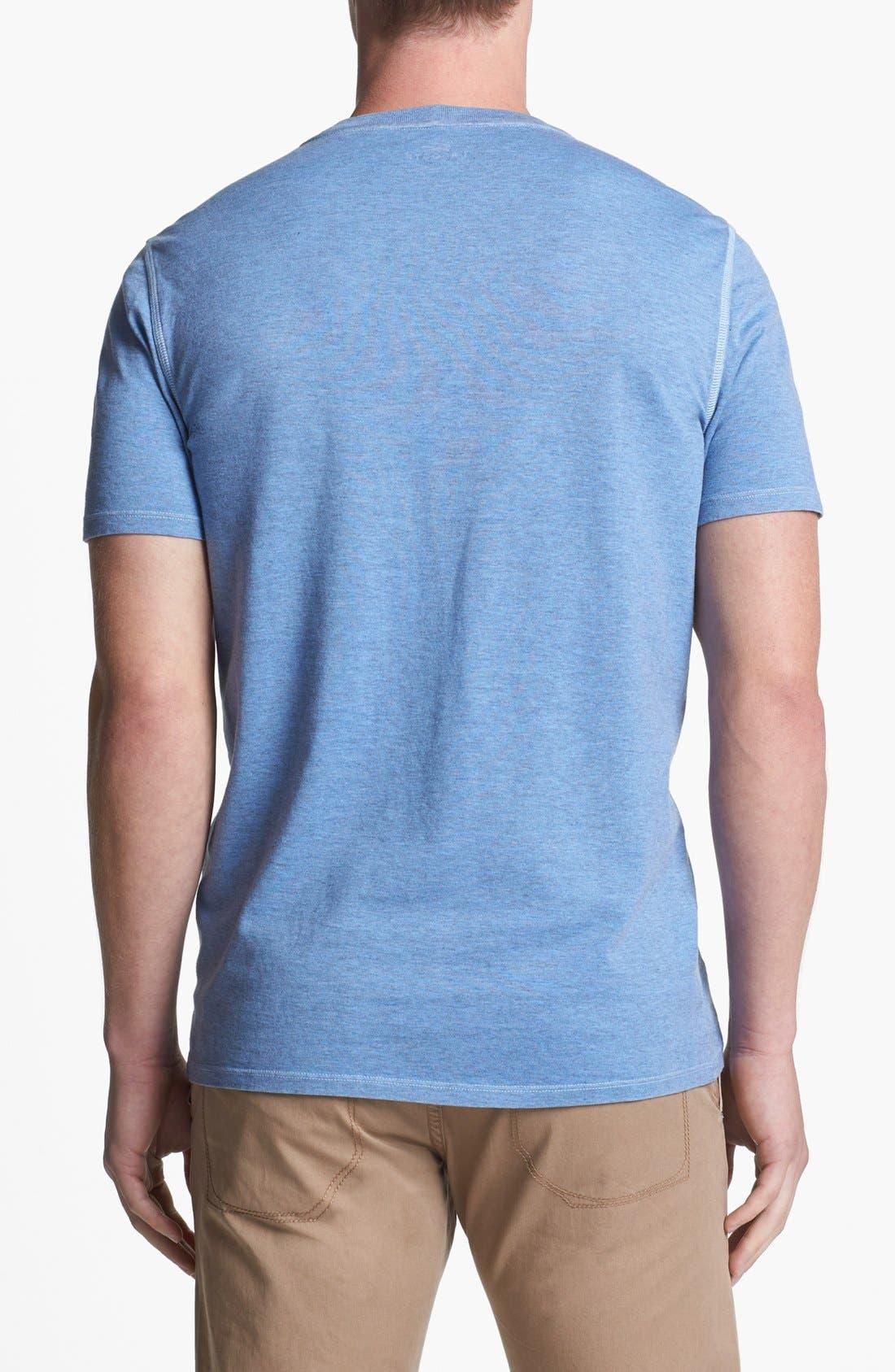 Alternate Image 2  - Lacoste Vintage Wash V-Neck T-Shirt