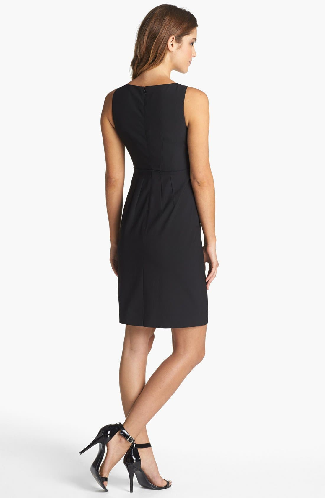 Alternate Image 2  - Halogen® Sheath Dress (Regular & Petite)