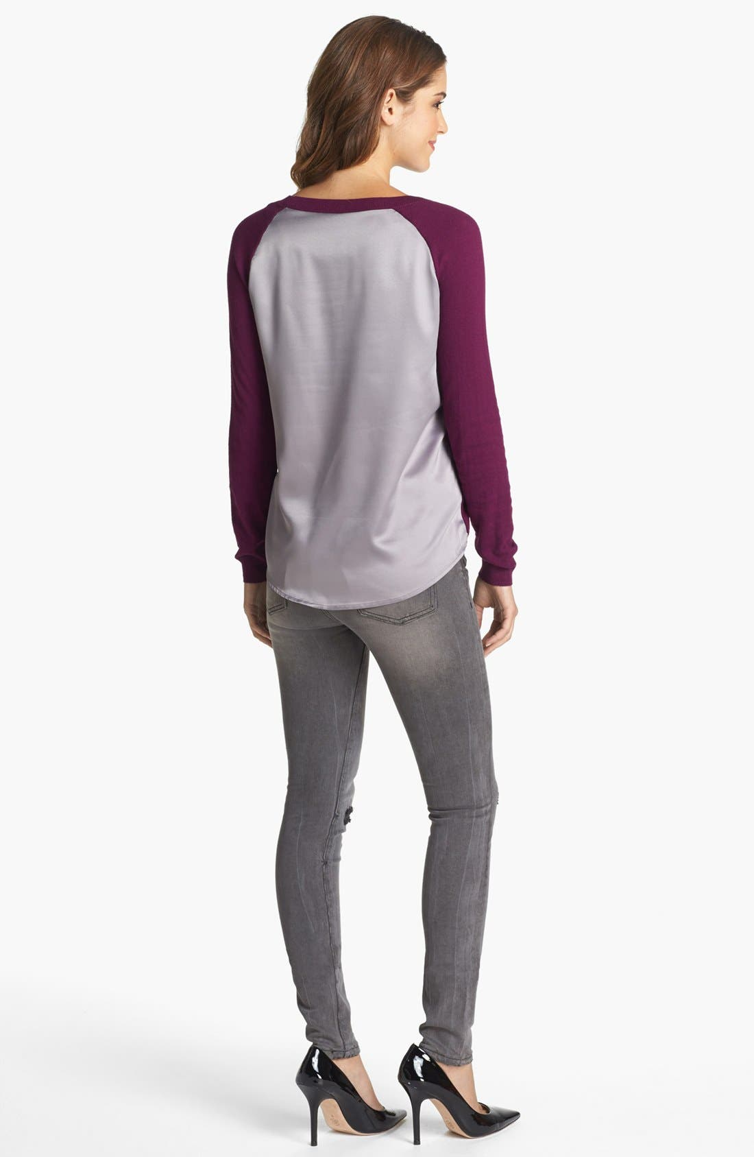 Alternate Image 5  - KUT from the Kloth 'Mia' Stretch Skinny Jeans (Simulating)