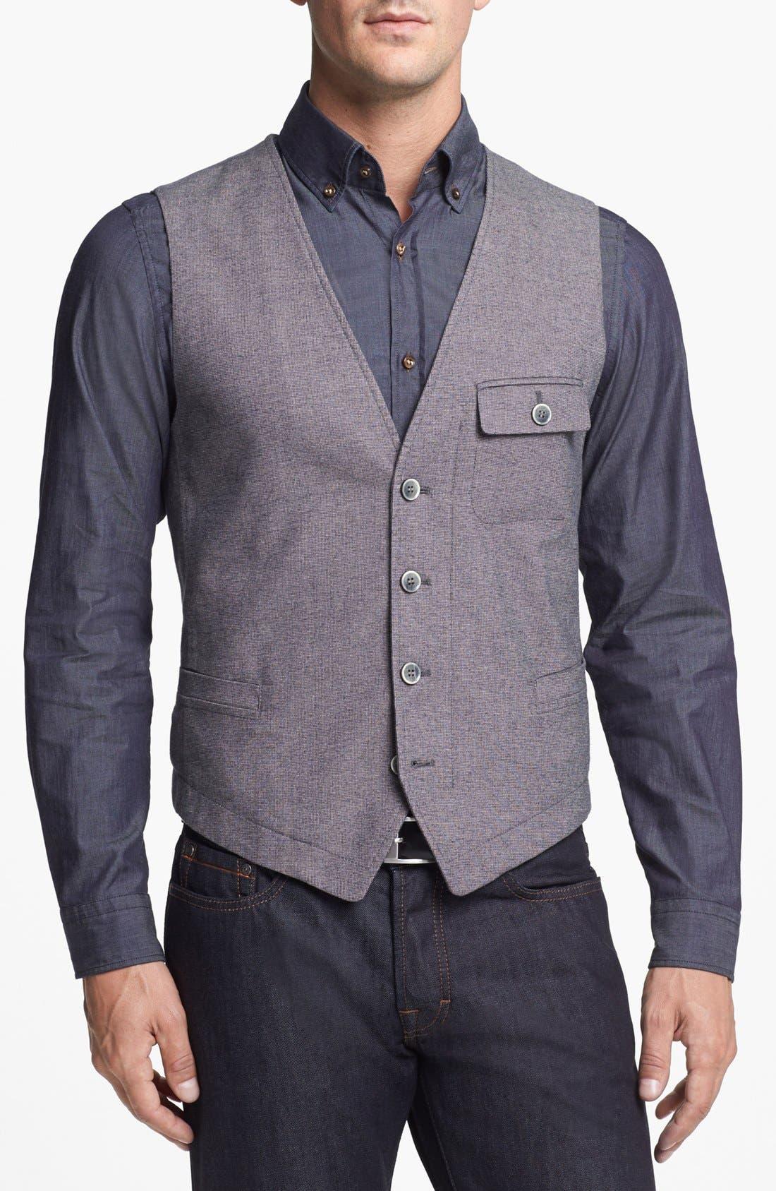 Alternate Image 1 Selected - BOSS HUGO BOSS 'Cinor' Vest