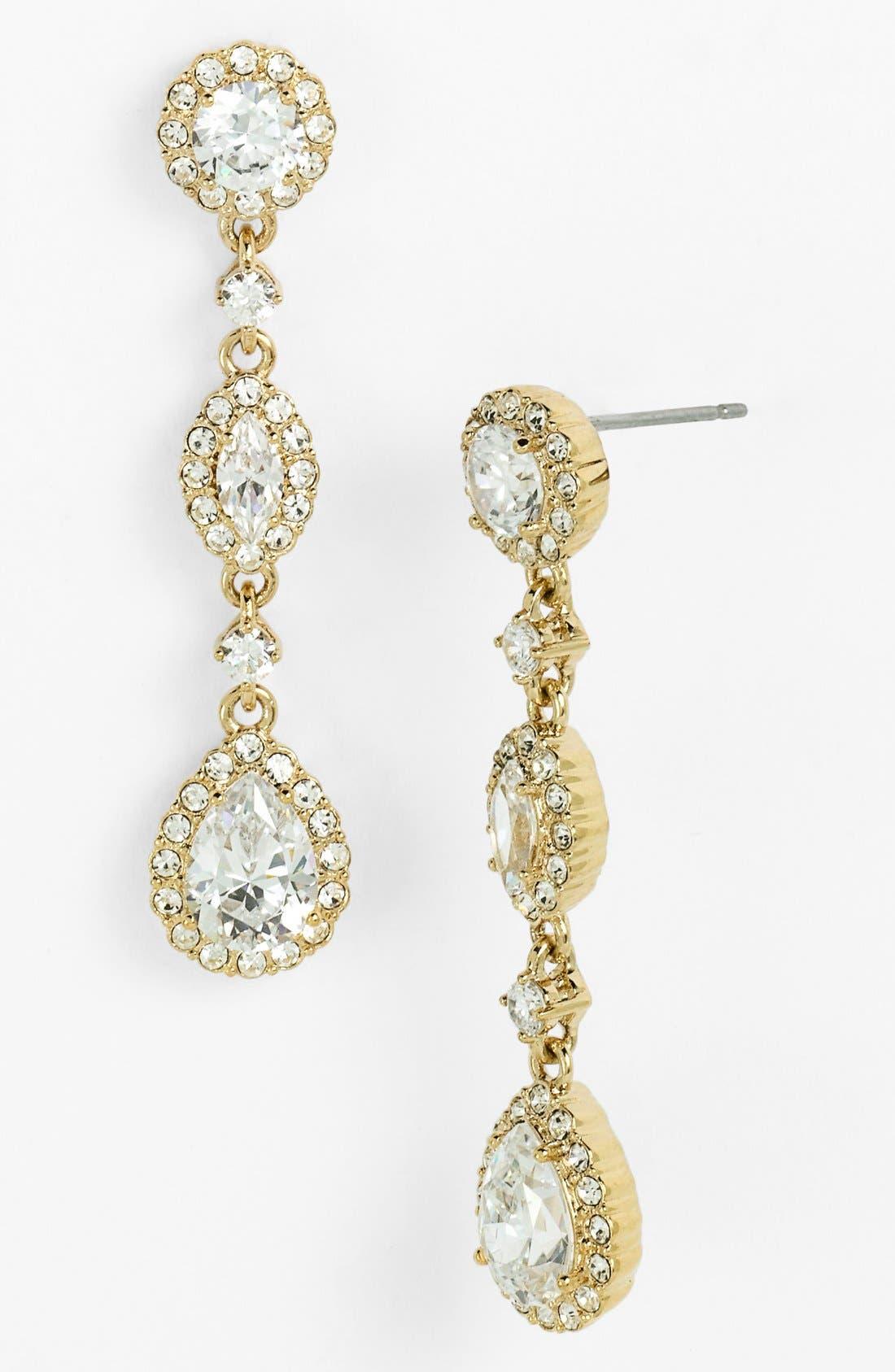 Main Image - Nadri Framed Cubic Zirconia & Crystal Drop Earrings